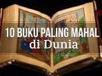 10 Buku Paling Mahal di Dunia yang Harganya Bikin Geleng-geleng Kepala