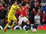 Hasil Liga Champions: Gol Telat Cristiano Ronaldo Antarkan Manchester United Kalahkan Villarreal