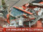 Casing CVR Black Box Pesawat Sriwijaya Air Ditemukan, Memori Masih Dicari