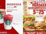 Daftar Promo Hari Kemerdekaan RI: Yoshinoya, Starbucks, Pizza Hut, Burger King, KFC hingga JCO