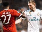 Sepatah Kata Toni Kroos Sikapi Rumor Kepindahan David Alaba ke Real Madrid