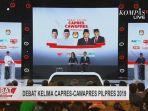 Prabowo-Sandi Saling Tatap Terima Pertanyaan Jokowi Soal Mobile Legend, Begini Jawabannya