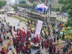 Demo Tolak Omnibus Law, Mahasiswa Tegaskan Jokowi-Amin Adalah Pemimpin Gagal