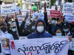 Junta Militer Myanmar Labeli Pemerintah Bayangan NUG Sebagai Kelompok Teroris
