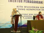 Kemenaker Menargetkan Cetak Ratusan Mentor dan Koordinator Tenaga Pemagangan Profesional