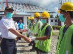 Disnav Kendari Libatkan 100 Masyarakat Sekitar di Program Padat Karya Kemenhub