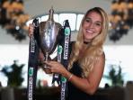Dominika Cibulkova Akhirnya Juara WTA Finals di Singapura