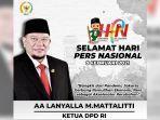Ketua DPD RI: Pers Harus Menjadi Akselerator Perubahan