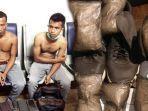 Berjalan Jinjit, Ternyata Sembunyikan Sabu Seberat 1,15 Kg, Dua Pria Aceh Ditangkap di Kualanamu