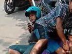 Aksi Melumpuhkan Maling Kalung Emas Pakai Jurus Smackdown Terjadi di Kawasan Pecinan Bangkalan