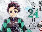 Pendapatan Film Animasi Jepang Kimetsu no Yaiba Mencapai Lebih dari 40 Miliar Yen