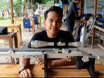 Efram Reinaldo, Bermula Hobi Kemudian Jadi Atlet Tembak Kota Tangerang