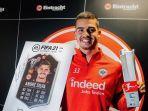 Tampil Meledak Bersama Frankfurt, Andre Silva Bahagia Pernah Tinggalkan AC Milan