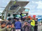 Isak Tangis Keluarga Sambut Kedatangan Dua Jenazah Anggota TNI yang Gugur di Yahukimo Papua