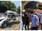 Identitas 9 Korban Kecelakaan Maut Bus vs Avanza di Tebingtinggi, 2 di Antaranya Saudara Kandung