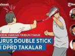 Fakta-fakta Perkelahian Anggota DPRD Takalar saat Rapat, Gunakan Double Stick, 2 Orang Terluka
