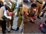 FAKTA Video Pengemis Pura-pura Lumpuh, Ngesot untuk Cari Simpati, Bawa Rp 500 Ribu saat Digeledah