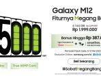 Flash Sale Samsung Galaxy M12: Berikut Spesifikasi Lengkapnya, Harganya Mulai dari Rp 1,7 Jutaan