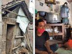 Keluarga Tinggal di Gubuk Bekas Kandang Sapi Selama 8 Tahun, Tak Tersentuh Bantuan Pemerintah
