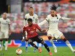 Hasil Liga Eropa, Pembantaian Sadis Manchester United, AS Roma Coreng Wajah Sepak Bola Italia