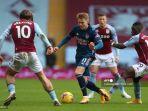 Hasil Liga Inggris Arsenal Tumbang di Kandang Aston Villa Gegara Gol Kilat