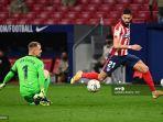 Hasil Atletico Madrid vs Barcelona Babak I - Ter Stegen Blunder Fatal, Lis Rojiblancos Unggul 1-0