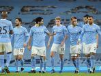 Man City Vs Leeds United, Diwarnai Kartu Merah, The CItizen Tertinggal Babak I