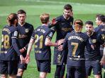 HASIL KLASEMEN Liga Spanyol - Peluang Barcelona Lakukan Kudeta seusai Atletico Kehabisan Napas