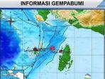 Kepulauan Aru Diguncang Dua Kali Gempa Tadi Malam, Belum Ada Laporan Dampak Kerusakan