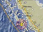 Gempa 5,7 Magnitudo Guncang Mentawai, BPBD: Di Tuapejat Getaran Terasa Kuat Dengan Skala III-IV MMI