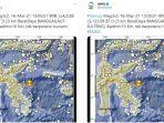 Gempa Magnitudo 5,0 Guncang Banggai Laut - Sulawesi Tengah Siang Ini
