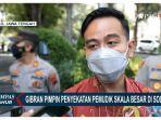 Wali Kota Solo, Gibran Pantau Langsung Pos Penyekatan Simpang Tiga Faroka, Laweyan