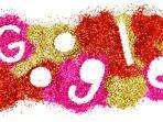 Google Doodle Tampilkan Warna-warni Bertabur Glitter Bertema Cinta di Hari Valentine