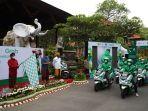 Kembali Perkuat Ekosistem KBL, Grab Luncurkan 30 Motor Listrik di Bali