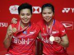 Peringkat Hadiah Pebulutangkis Indonesia hingga BWF World Tour Finals 2020, Apriyani-Greysia Teratas