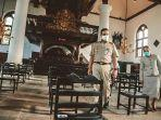 Setelah Kunjungi Masjid, Anies Baswedan Blusukan ke Gereja Sion, Jalin Silaturahmi dengan Pendeta