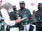 Panglima TNI Pimpin Vaksinasi Covid-19 Bagi Prajurit Wilayah Yogyakarta di Lanud Adi Sucipto
