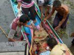 Kisah Hadiati Melahirkan Bayi Laki-laki di Kelotok saat Menuju Puskesmas Alabio