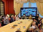 Silaturahmi Virtual, Dubes RI Minta WNI di Jepang dan Mikronesia Sabar Tidak Mudik
