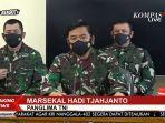 Panglima TNI Sampaikan Dukacita Mendalam kepada Keluarga 53 Prajurit KRI Nanggala-402