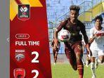 Hasil Piala Menpora 2021, Drama 4 Gol, PSM Makassar ke Perempatfinal Seusai Curi Poin dari Borneo FC