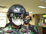 Canggihnya Helmet Thermal KC Wearable TNI AD: Bisa Deteksi Suhu Tubuh dari Jarak 10 Meter