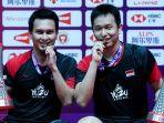 LINK Live Streaming TVRI Final BWF World Tour Finals 2020, Asa Ahsan/Hendra Pertahankan Gelar