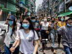 Militer dan Milisi Berperang, Ribuan Penduduk Myanmar Melarikan Diri ke Thailand