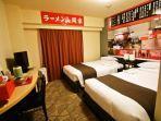 Hotel Bertema Ramen Ini Bawa Tamu Rasakan Tidur di Dalam Kedai Mi