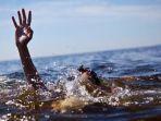 Kewalahan Menali dan Menarik Perahu, 2 Penambang Pasir Tewas Tenggelam