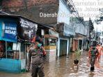 Banjir di Cipinang Melayu Jakarta Timur, Ketinggian Air hingga 1,5 Meter