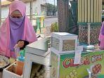 Ingin Berkuliah dan Berangkatkan Umrah sang Nenek, Gadis Bercadar Rela Jualan Cilok, Ini Kisahnya