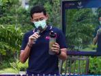 Sempat Terinfeksi Covid-19, Menparekraf Sandi: Jangan Anggap Minum Infuse Water, Terus Aman
