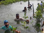 Dorong Pelestarian Laut dan Pesisir Pantai, Jababeka Tanam 1.000 Pohon Mangrove di Kabupaten Bekasi